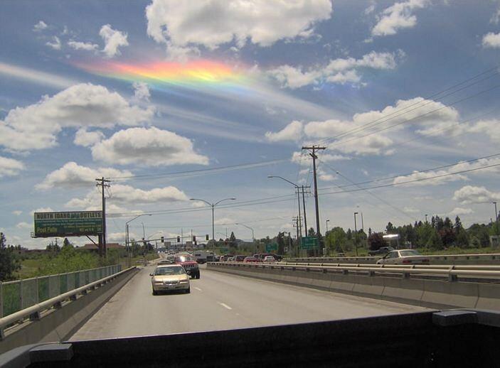 [Fire Rainbow] Pelangi Api Fenomena Langit yang Langka dan Menakjubkan