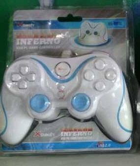 .::[H-TroN]::. READY Controller/JoyStick Xtech Inferno White Black Single Double BNIB