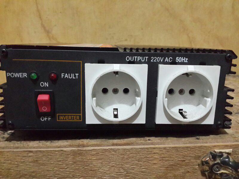 inverter DC ke AC