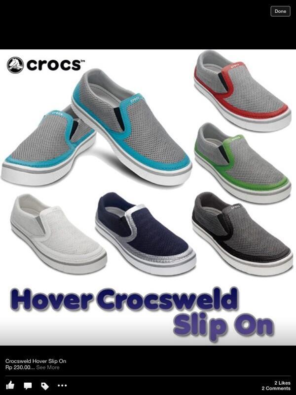 Crocs cowok ori reject