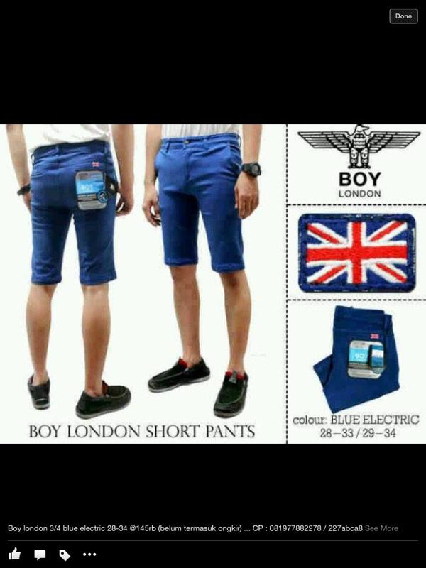 Jeans cowok merk boy london dan mr guess