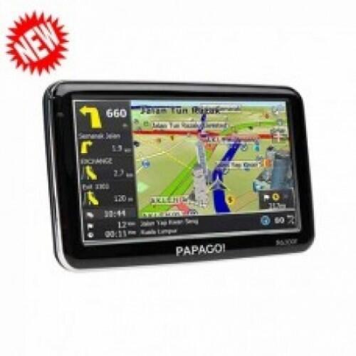 """GPS PAPAGO R6300T 5"""" New"""