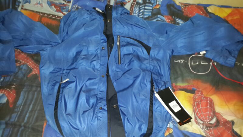 wts jaket out door iguana aqua trail water proof 10000 mm bandung