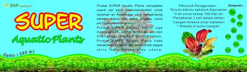 PUPUK CAIR TANAMAN AIR AQUASCAPE (SUPER AQUATIC PLANTS)