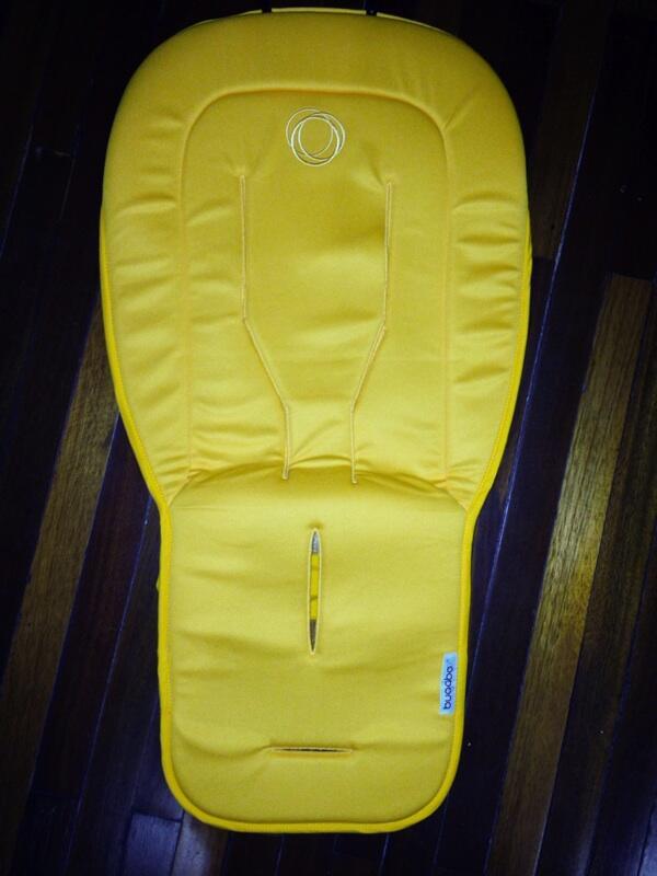 Jual : Bugaboo seat liner yellow original