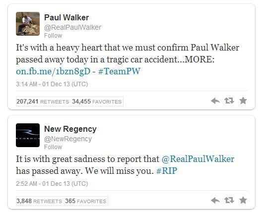 Paul Walker pemeran fast & furious telah meninggal hari ini 9-12-1973 – 11-30-2013
