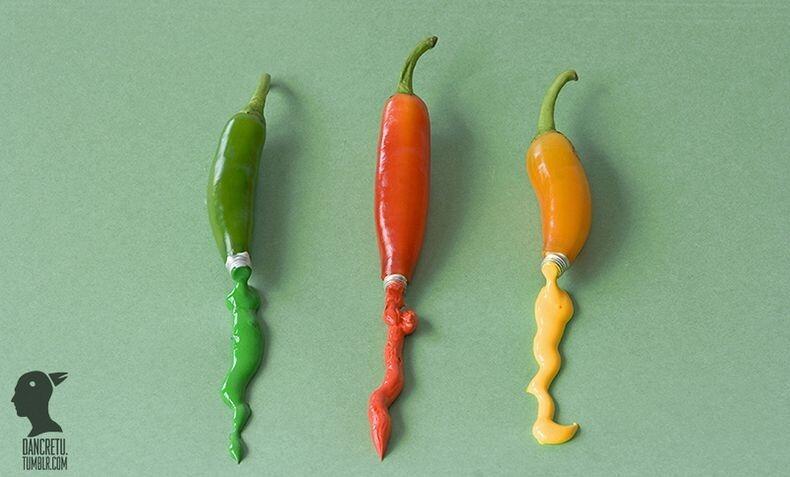 [Food Sculpture] Foto-foto Patung Unik dari Makanan