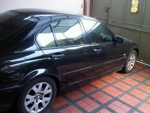 For Sale / jual bmw 318i e46 hitam 2002