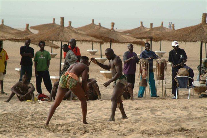 """Mengenal Kesenian bela diri dari Gambia """"The Gambia, Wrestling"""""""