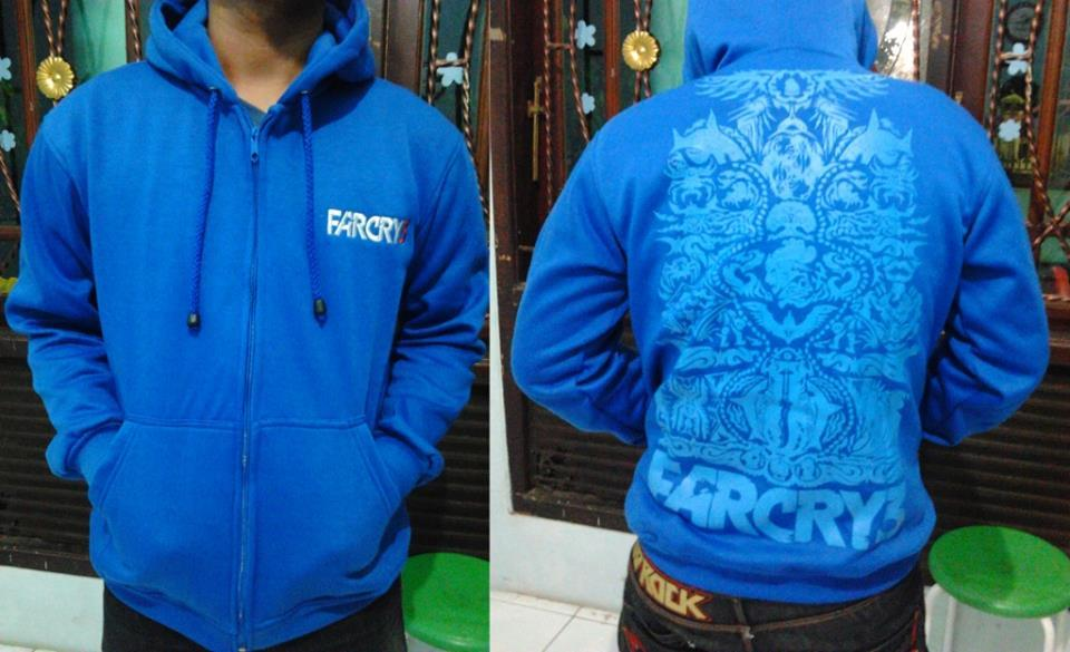 Jaket Farcry 3 Limited tinggal 1 Stock