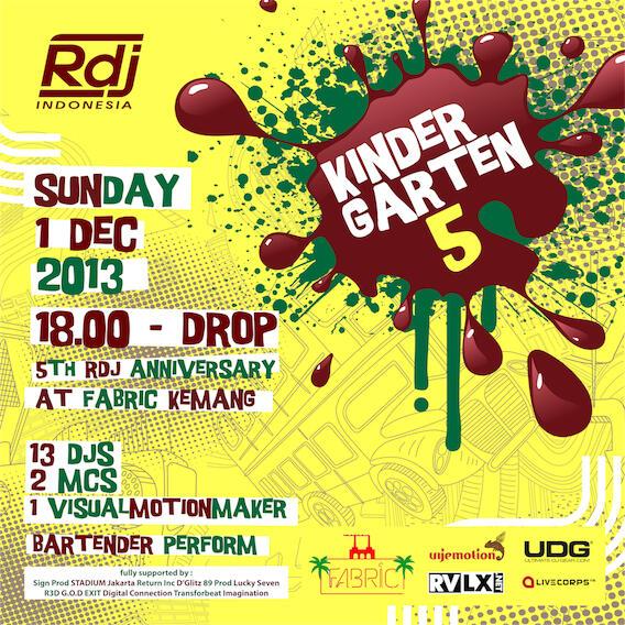 RDJ Indonesia 'KINDERGARTEN' Party