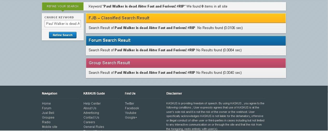 Paul Walker is dead Aktor Fast and Furious! #RIP