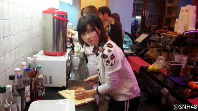 SNH48 Membuka Cafe Seperti AKB48 Ganti [HOT]