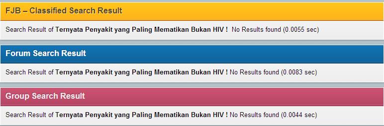 Ternyata Penyakit yang Paling Mematikan Bukan HIV !
