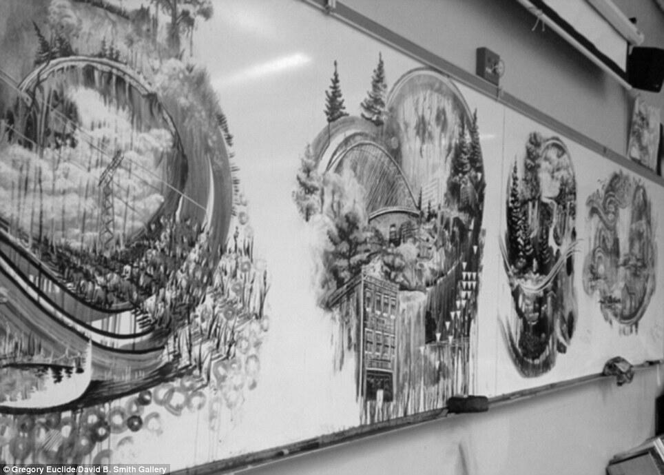 Don't Wipe the Masterpiece !! Karya Seorang Guru Dalam 25 Menit Istirahat Makan Siang