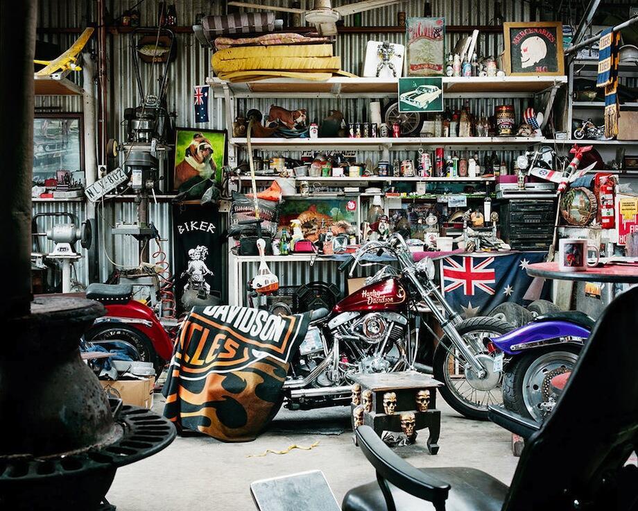 Gudang-gudang unik dan bergengsi milik pria-pria Australia