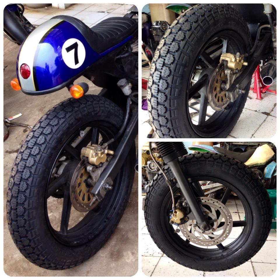 Modifikasi Suzuki Thunder 125cc