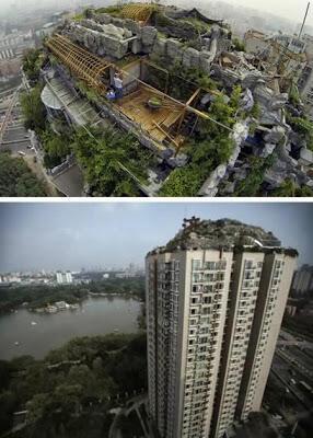 7 Obyek Unik yang Dibangun di Atas Gedung
