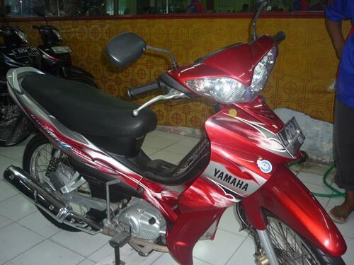 Di Jual Motor bekas Yamaha Jupiter Z Burhan Th. 2009 Surabaya