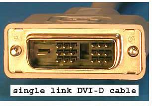 Kabel monitor LCD DVI to DVI