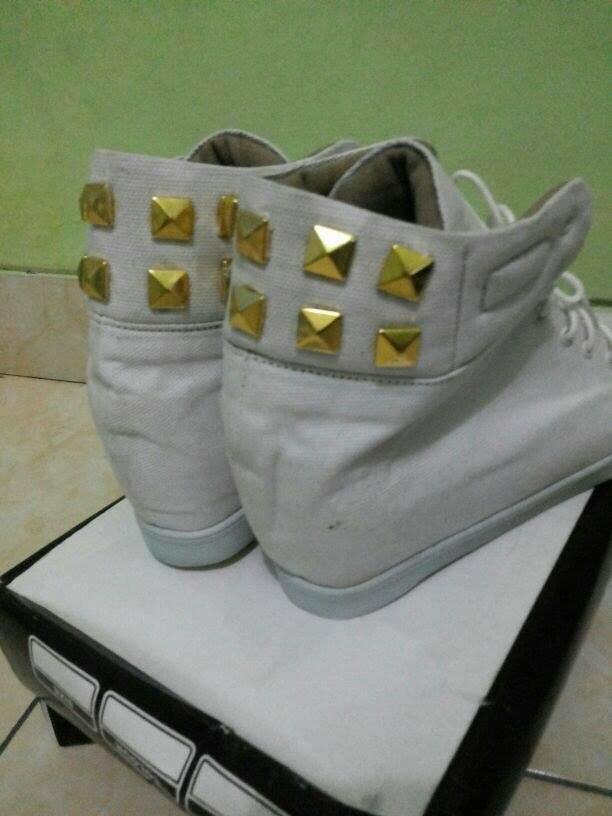 sepatu korea sneaker wedges