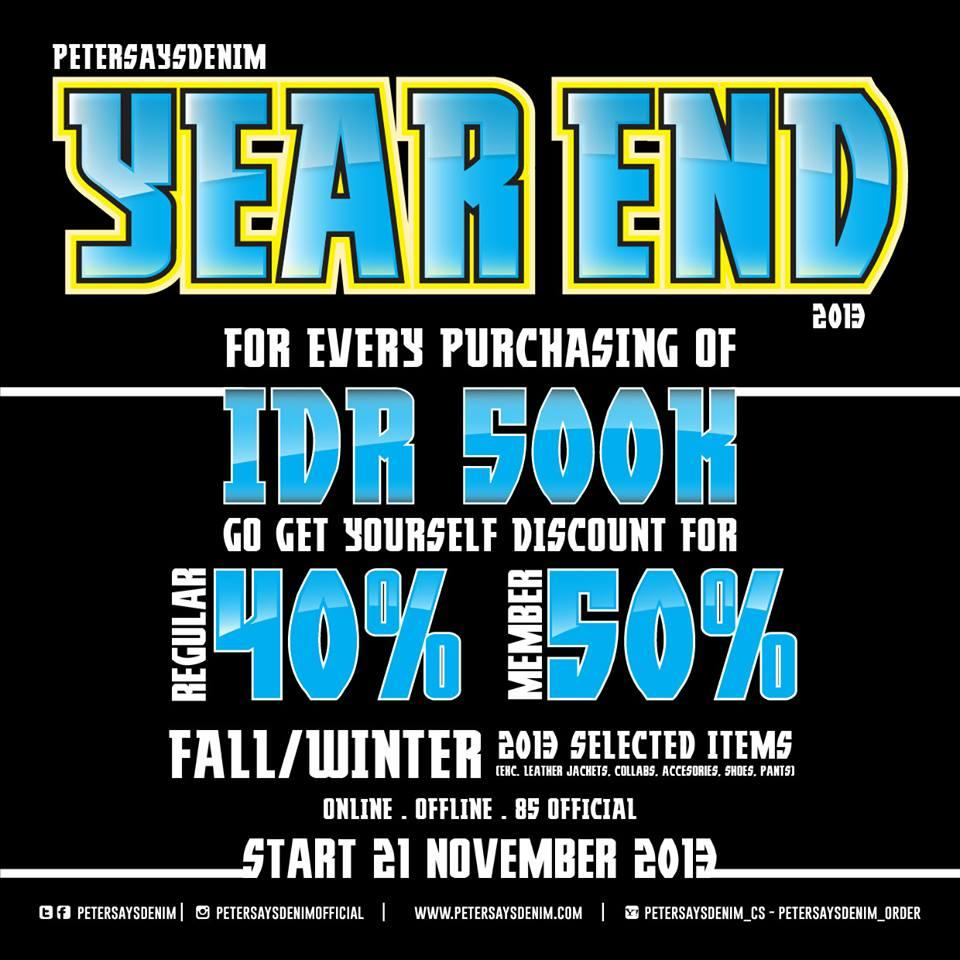 PO KILAT PROMO PETERSAYSDENIM #YEAREND DISKON 50% FREE 85 RIDING HOOK!!!!!!!!!