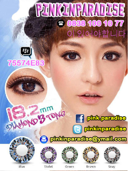 Pinkinparadise™ Diamond® Korea Softlens / Soft Lens / Contact Lens