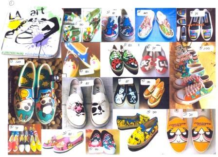 Terjual Sepatu Lukis Jogja Yogyakarta  51df877f8b