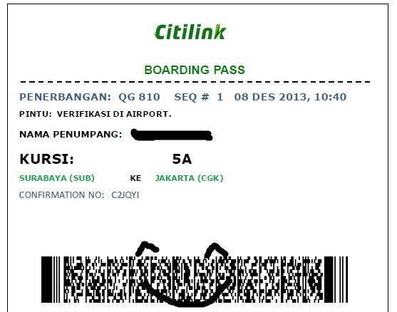 Terjual Jual Tiket Cbaikink Dan Sriwijaya Jakarta Surabaya
