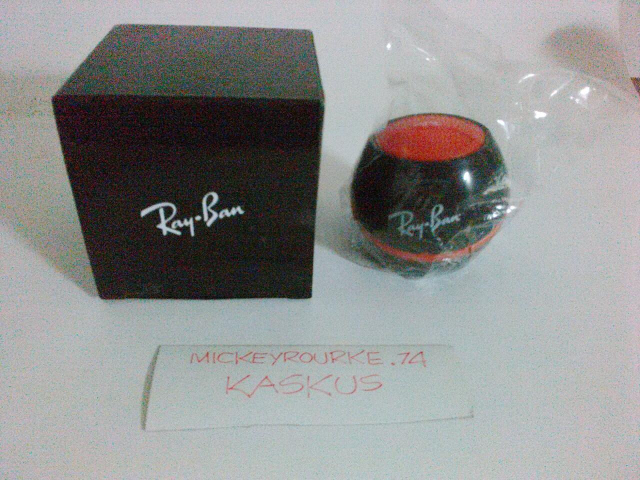 Terjual Kacamata Ray-Ban Aviator RB3025 original ex Optik Seis ... 96c21a1a3e