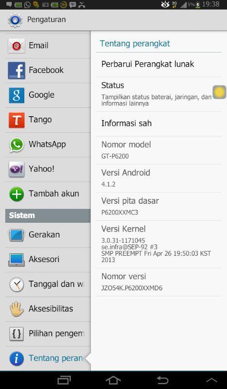 Samsung Galaxy Tab 7.0+ white mulus terawat murah
