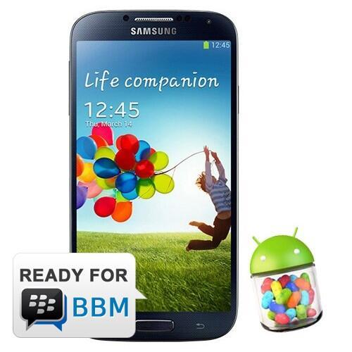 Samsung Galaxy S4 - 16 GB (BBM Ready)