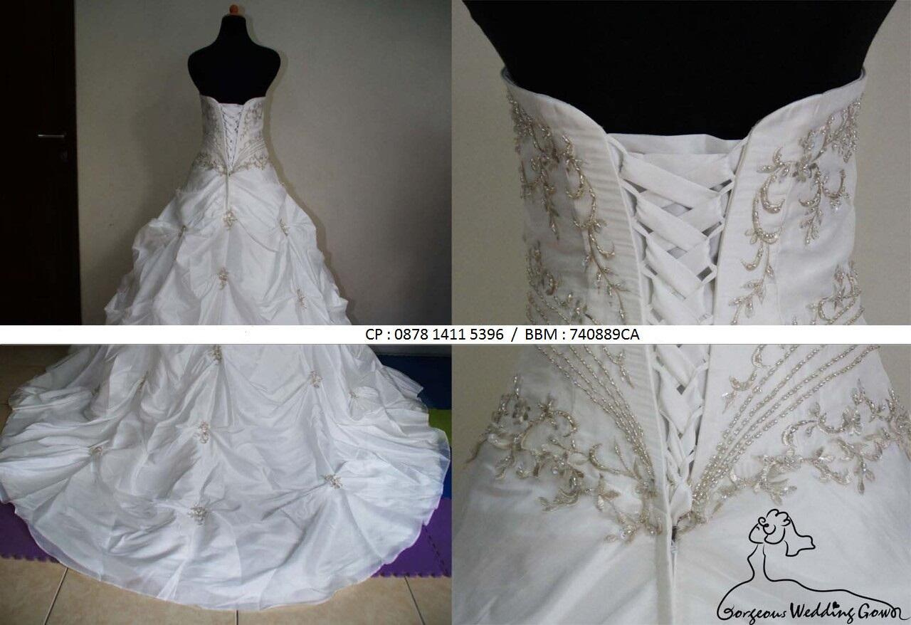 Wedding Dress , Baru 1x Pake :)