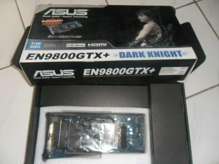 Vga Asus En9800gtx+ dark knight 512mb Ddr3