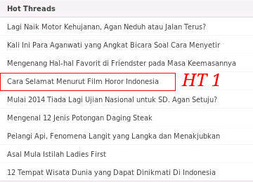 Cara Selamat Dalam Film Horor Indonesia