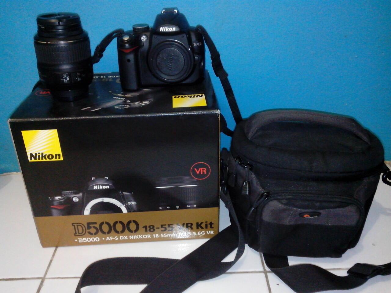 Jual Nikon D5000 BO cuma 3Jt an Cod Tangerang