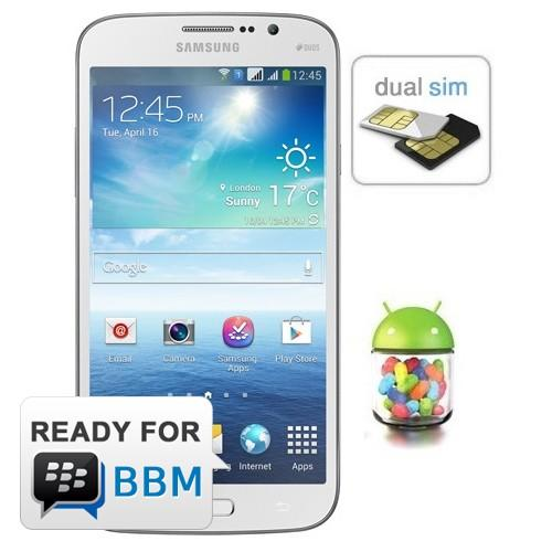 Samsung Galaxy Mega 5.8 inch - Black & White
