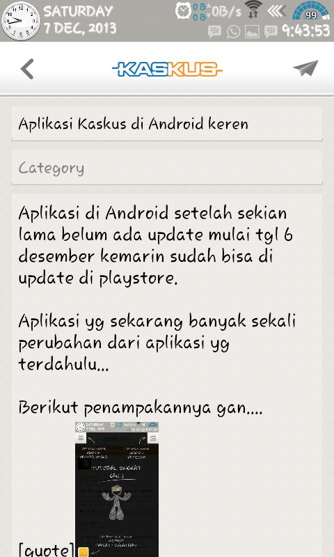 Aplikasi Kaskus Terbaru Di Android Keren Kaskus