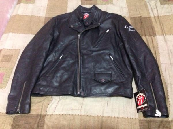 THE ROLLING STONES 50th YEARS ANNIV LEATHER JACKET RARE!