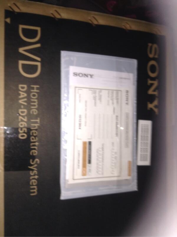 home theater sony dav dz650. wts home theatre sony dav-dz650 new theater dav dz650
