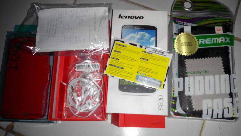 WTS LENOVO S820 SECOND BANYAK BONUS (BEST DEAL)