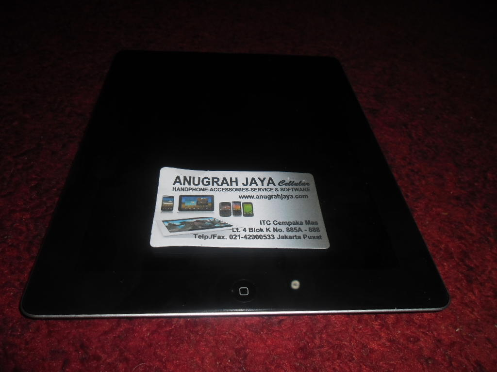 iPad 2 Cellular 3G + Wifi 32GB Second Lengkap, Mulus 99% no dent, no retak