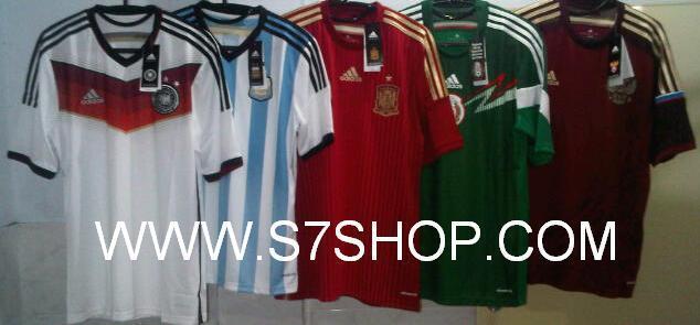 Terjual World Cup 2014 Original Jersey BNWT  8878f13890d96