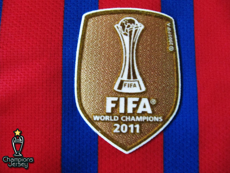 Barcelona 2011-12 MESSI CWC Patch Original size S - SALE Authentic Nike