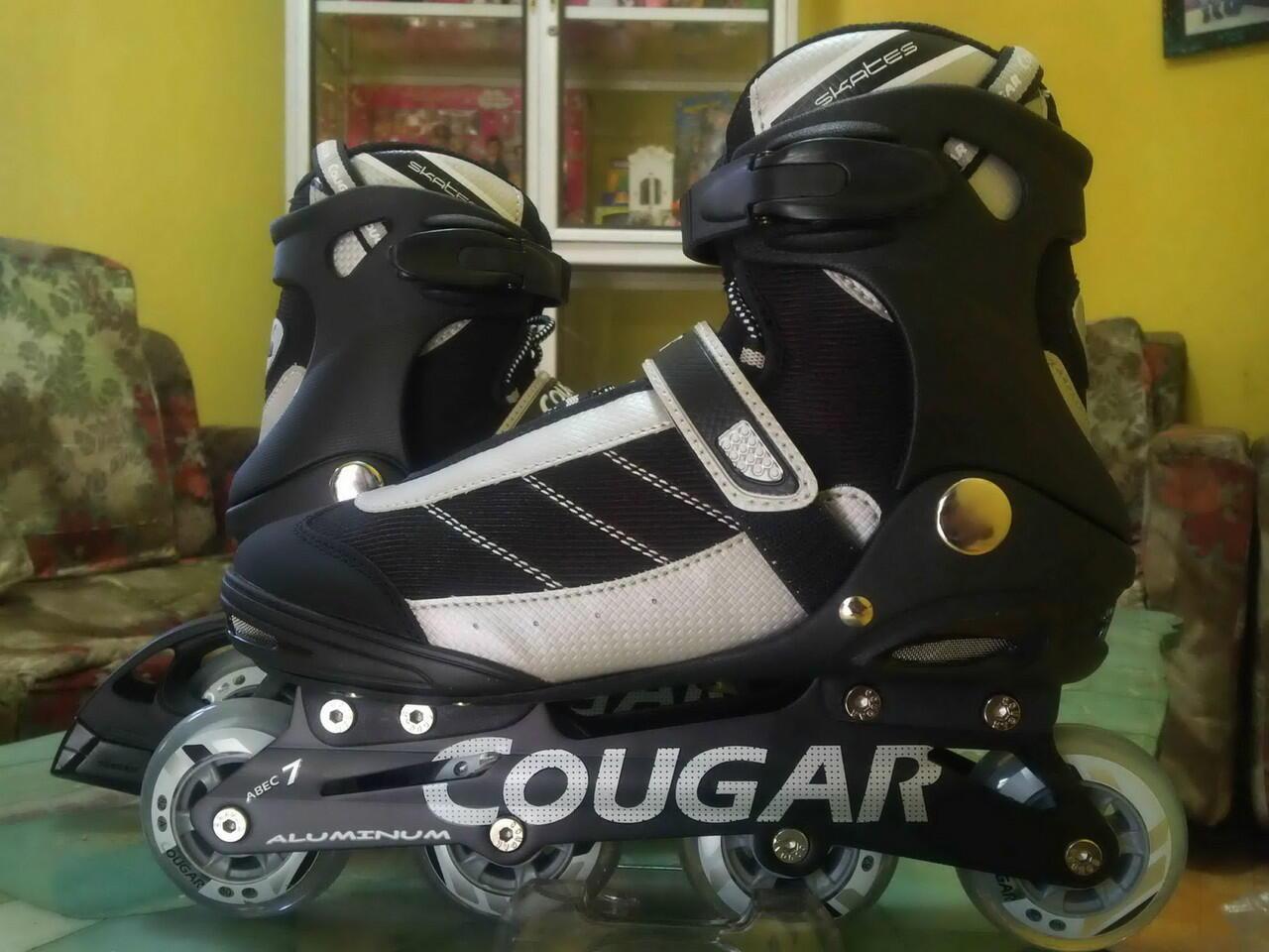 Terjual jual inline skate cougar   sepatu roda cougar tipe fitness ... cc4c20d9b3