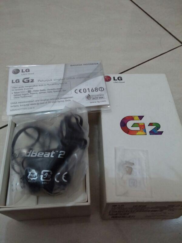 Like New LG G2 32GB Pembelian Oktober 2013 (Garansi Resmi LG Indonesia)
