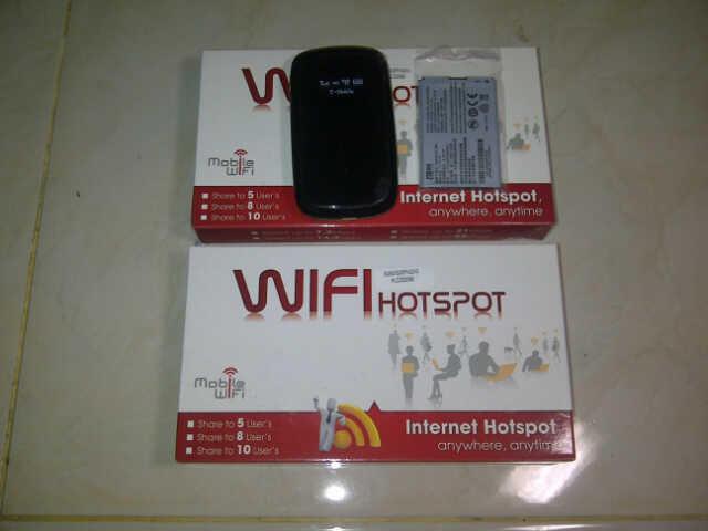 Modem wifi ZTE MF61 GSM 21 mbps Mifi Portable Hotspot Wireless Router Solo Murah