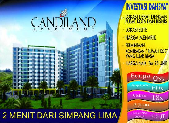 Jual Apartment Candiland Semarang