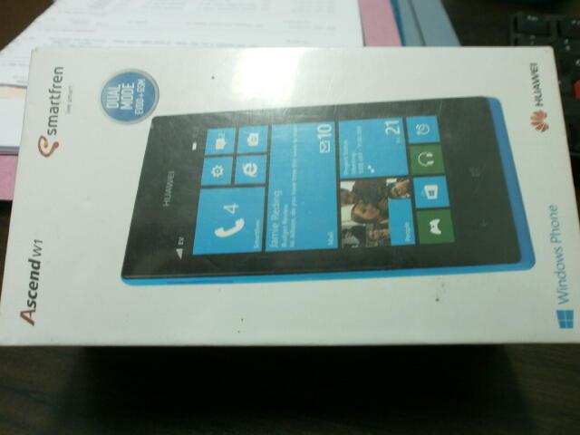 HUAWEI ASCEND WINDOWS PHONE 8 BARANG BARU HARGA SEKEN || SURABAYA