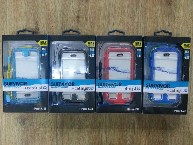 WATERPROOF CASE GRIFFIN SURVIVOR + CATALYST IPHONE 4/5/S